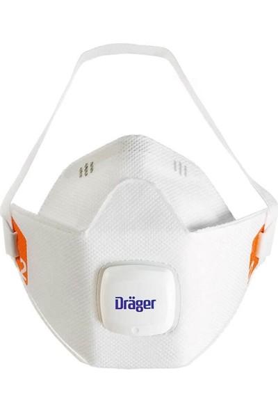 Drager X-Plore 1920V Ffp2 Ventilli N95 Maske 10'lu