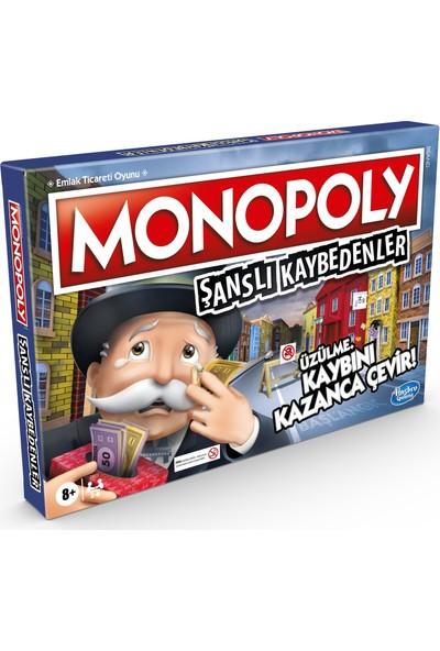 Monopoly Şanslı Kaybedenler Kutu Oyunu