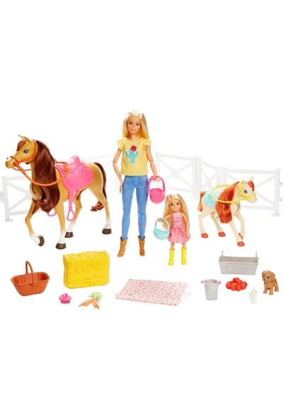Barbie® ve Chelsea Muhteşem Atları Oyun Seti ( 15 'ten fazla aksesuarlı) FXH15