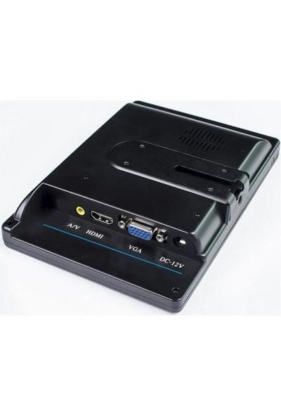 """Techsmart TCH-01912 7"""" HDMI + VGA + Vıdeo LCD Tv Araç Içi Monitör HDMI + VGA Kablo Dahil"""