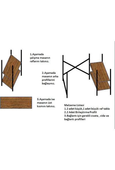 Puççi Metal Çalışma Masası