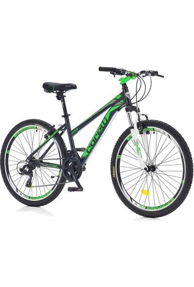 "Corelli Swing 3.1 24 Bayan Dağ Bisikleti V Fren 13"" Siyah - Yeşil"