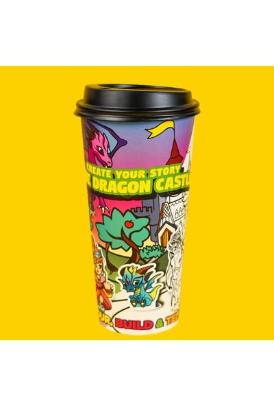 Neo-Toys Art In A Cup - Hikayeni Yarat - Ejderha Şatosu