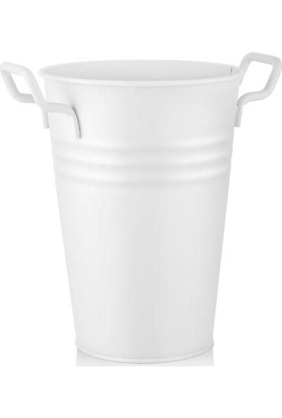 The Mia Vazo 30 cm Beyaz