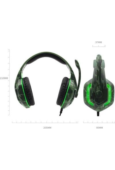 Komc G312 Pro Kulaklık LED Işıklı