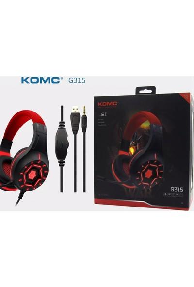 Komc G315 Pro Pc Kulaklık LED Işıklı