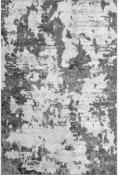 Colizon Dekoratif Yıkanabilir Kaymaz Tabanlı Halı TYKD-7003GRI