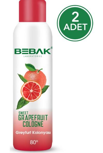 Bebak Sprey Kolonya Greyfurt 150 ml 2 Adet