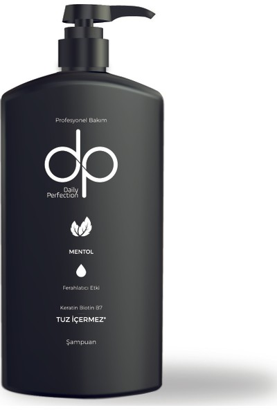 Dp Daily Perfection Mentol 800 ml Tuzsuz Şampuan