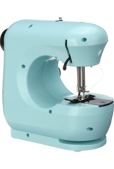 Insma Mini Elektrik Masaüstü Dikiş Makinası 2 Hızlı Otomatik (Yurt Dışından)