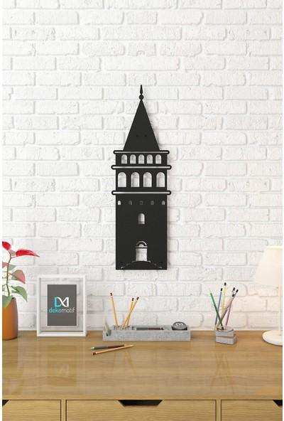 Dekomotif Galata Kulesi Metal Tablo Istanbul Temalı Metal Dekor