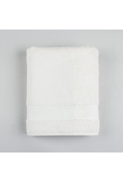 Basics By Chakra Caracas Banyo Havlusu Beyaz