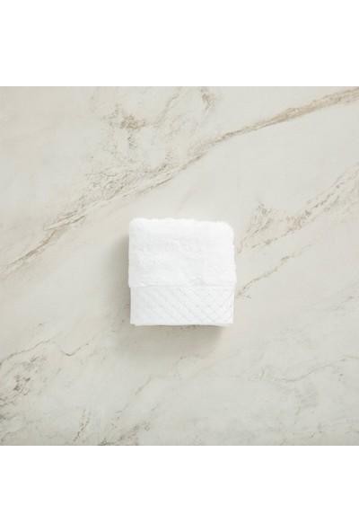 Chakra Lera Havlu 30 x 50 Beyaz