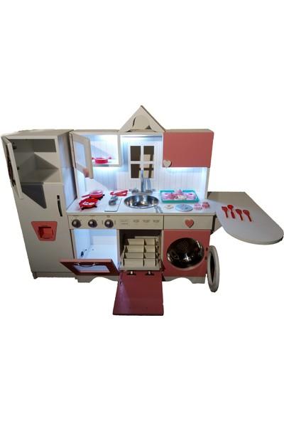 Trend Avm Oyuncak Mutfak Led Işıklı