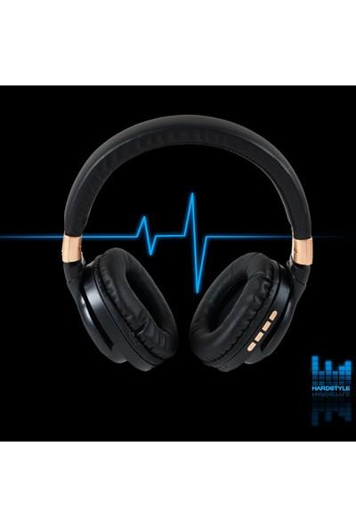 Rosstech BT760 Kablosuz Bluetooth 5.0 Gürültü Azaltıcı Kulak Üstü Kulaklık - Siyah