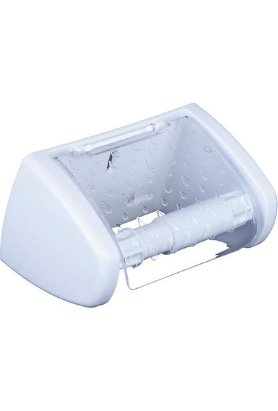 Ak Temizlik Kristal Kapaklı Tuvalet Kağıtlığı