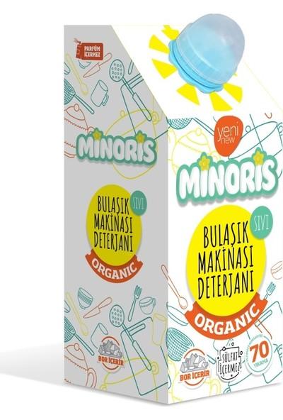 Minoris Organik Bulaşık Makinesi Sıvı Deterjan Sülfatsız 70 Yıkama