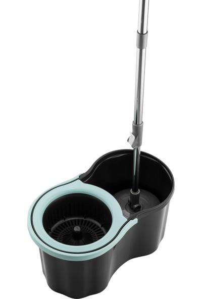 Urve Mikrofiber Süper Mop Set 360 Temizlik Seti - Turkuaz