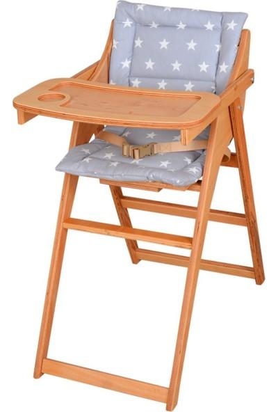 Babyroom CSF-4061 Portatif Ahşap Mama Sandalyesi