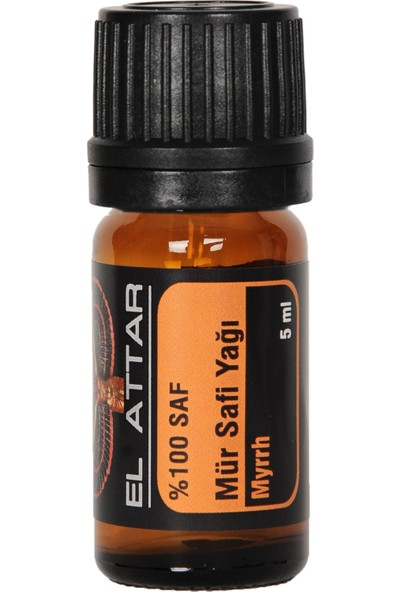 El Attar Spaın %100 Saf ve %100 Doğal Mür - Mürsafi Yağı (Parfüm Yapımı Için De Uygun Esansiyel ve Uçucu)