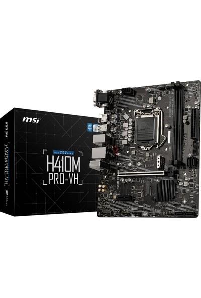 MSI H410M PRO-VH Intel H410 2933MHz DDR4 1200 Pin Micro ATX Anakart