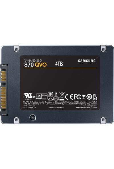 """Samsung QVO 870 4TB 560MB-530MB/s Sata 3 2.5"""" SSD (MZ-77Q4T0BW)"""