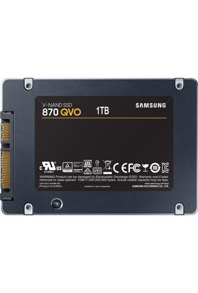 """Samsung QVO 870 1TB 560MB-530MB/s Sata 3 2.5"""" SSD (MZ-77Q1T0BW)"""