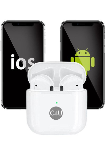 C4U TWS Air Mini Kablosuz Bluetooth 5.0 Kulaklık - CS4-05