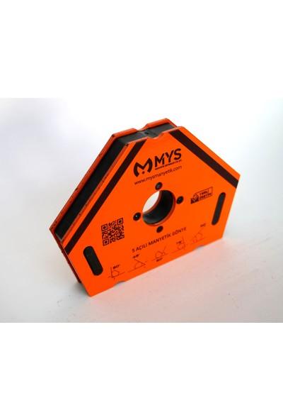 Mys 5 Açılı Manyetik Kaynak Gönyesi