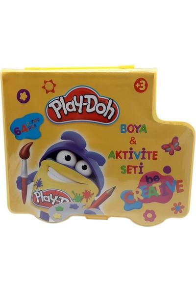Play-Doh Boya ve Aktivite Seti 64 Parça Kırtasiye Seti