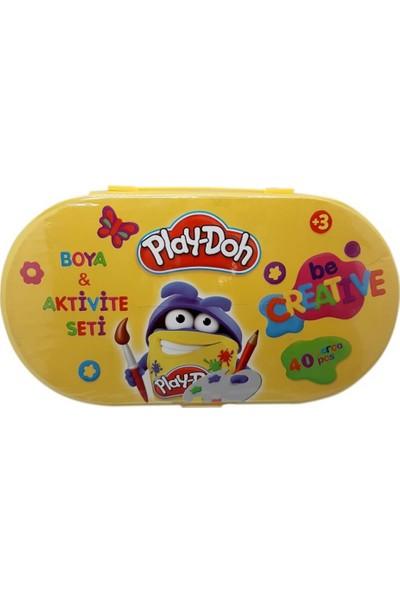 Play-Doh Boya ve Aktivite Seti 40 Parça Kırtasiye Seti