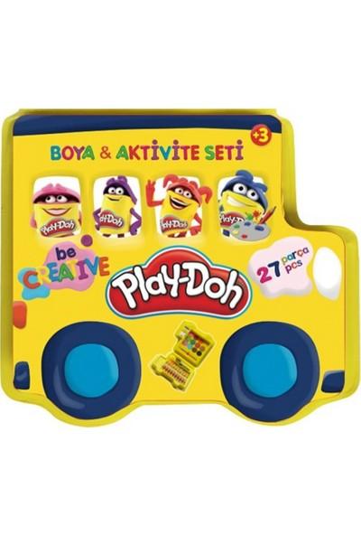 Play-Doh Boya ve Aktivite Seti 27 Parça Kırtasiye Seti