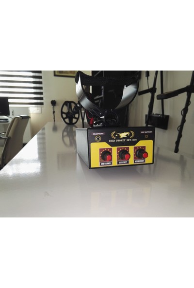 Gold Pronet SKY1000 Derin Arama 32 cm Çift Başlıklı
