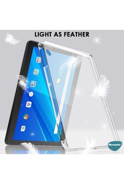 "Microsonic Lenovo Tab M10 TB-X505F 10.1"" Kılıf (ZA4G0072TR) Transparent Soft Şeffaf"