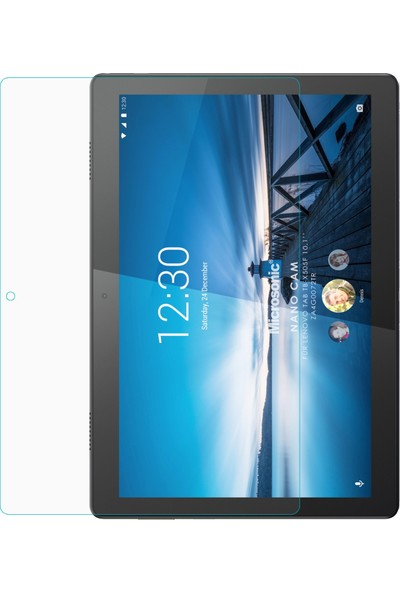 "Microsonic Lenovo Tab M10 TB-X505F 10.1"" (ZA4G0072TR) Nano Glass Ekran Koruyucu Şeffaf"