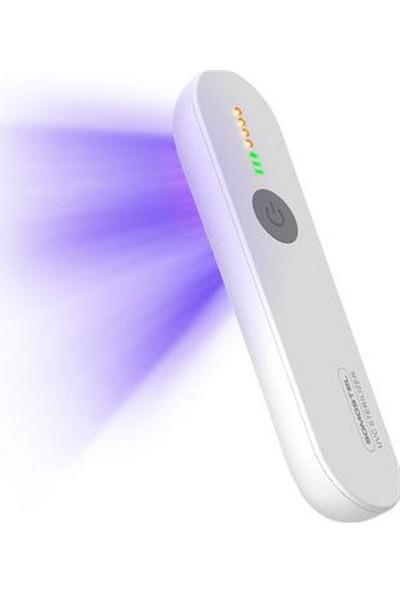 Krglt Portatif Mikrop Kırıcı Uv Işık Taşınabilir Mini Dezenfektan Cihazı