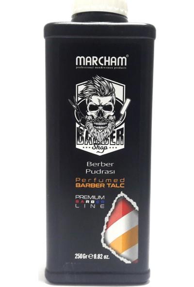 Marcham Profesyonel Parfümlü Berber Pudrası 250 gr