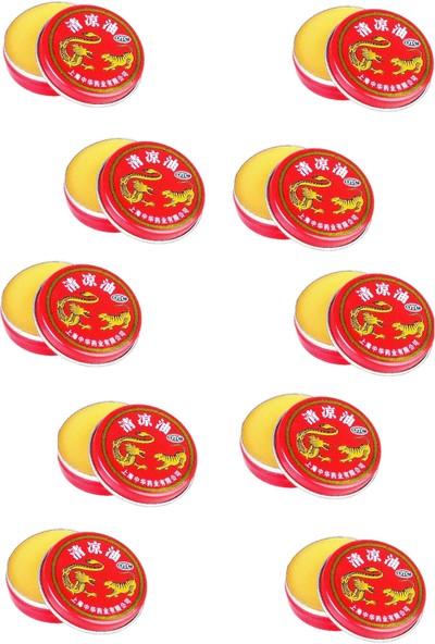 10 Adet Çin Yağı Tiger Balm Krem 3 G (3 x 10 )HYL10-3