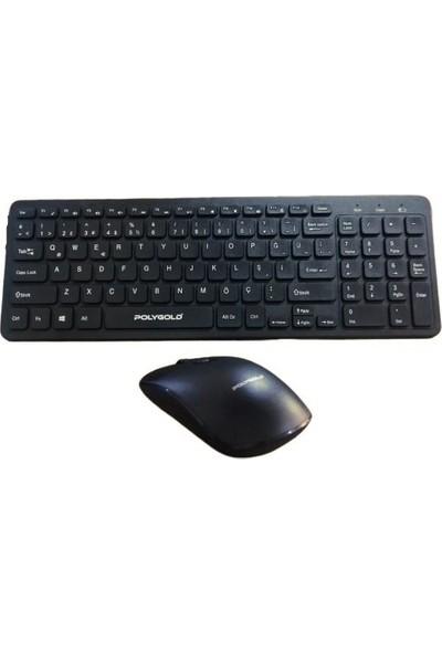 Polygold PG-8040 Slim Kablosuz Klavye Mouse Set