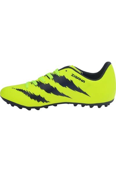 Lig Zigana Hm Halı Saha Erkek Spor Futbol Ayakkabısı Sarı