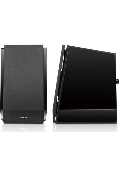 Edifier R1850DB Optic Girişli ,Bluetooth,Subwoofer Çıkışlı 4'' Bas Ünitesi 2.0 Aktif Hoparlör 70W RMS Piyano Siyah