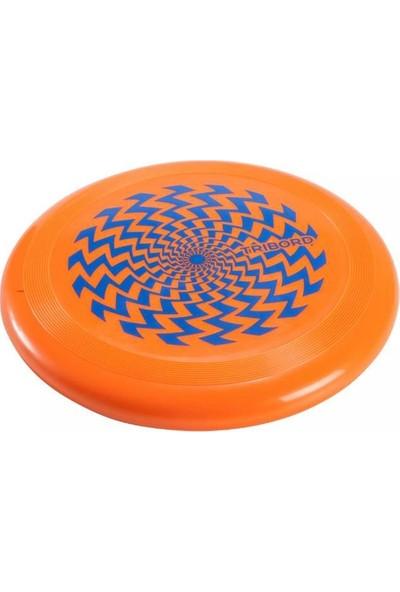 Tribord Frizbi Fırlatma Diski Frizbi Oyuncağı 21 cm Turuncu