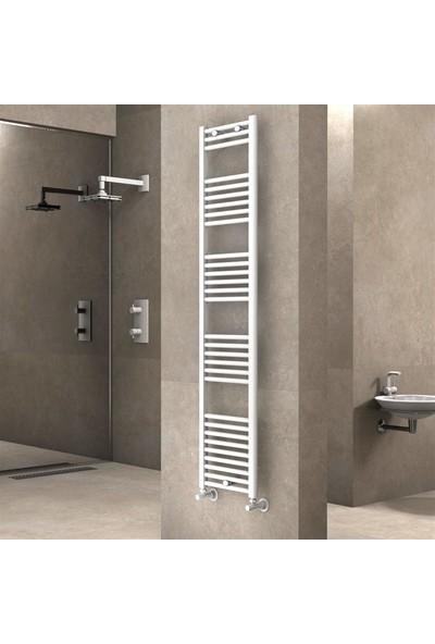 Radiva Banyo ve Mutfak Için Havlupan 400 x 1800 mm Düz Beyaz