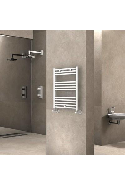 Radiva Banyo ve Mutfak Için Havlupan 600 x 700 mm Düz Beyaz