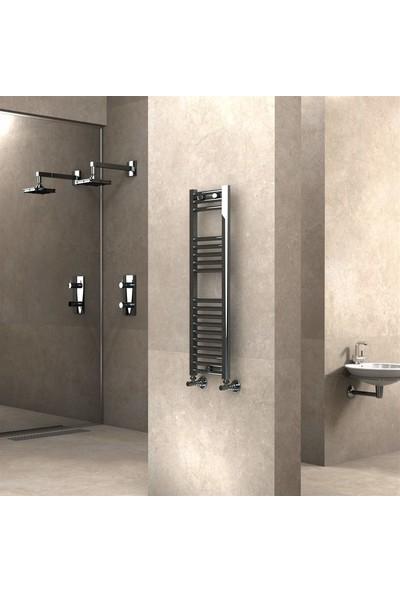 Banyo ve Mutfak Için Havlupan 300 x 1000 mm Düz Krom