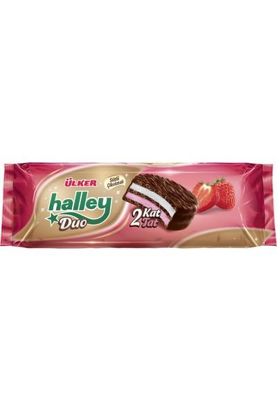 Ülker Halley Kakaolu Çilekli Double 5x45 gr