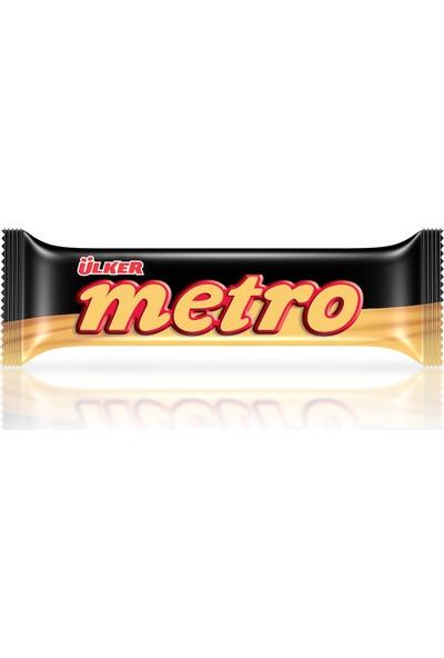 Ülker Metro Çikolata Kaplamalı Bar 36 gr