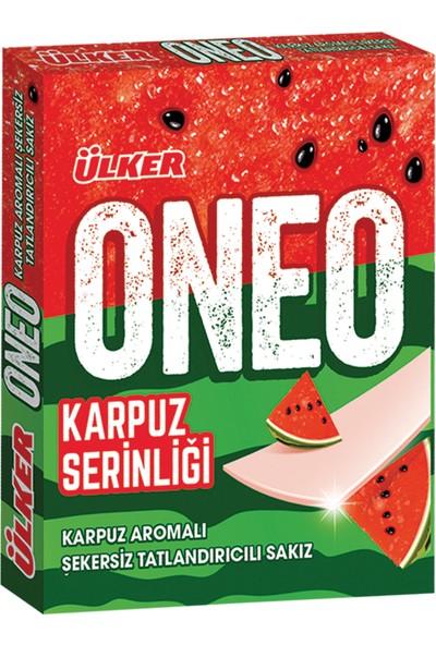 Ülker Oneo Select Karpuz Aromalı Sakız 31 gr