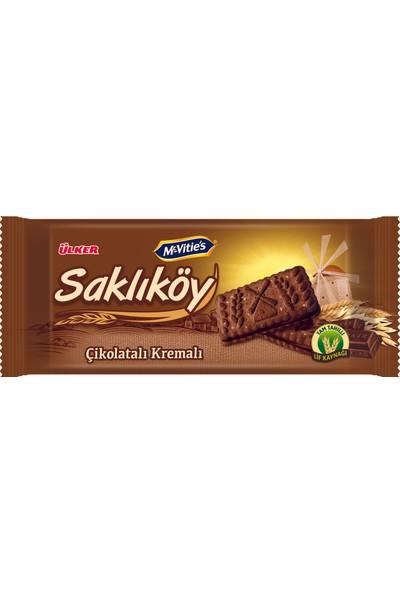 Ülker Saklıköy Çikolatalı Kremalı Bisküvi 87 gr