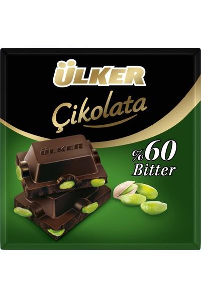Ülker Bitter Fıstıklı Çikolata 70 gr
